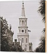 Episcopal Wood Print