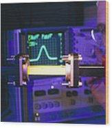 Equipment For Superluminal Microwaves Wood Print by Volker Steger