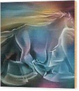 Equus Caballuscomp 1984 Wood Print