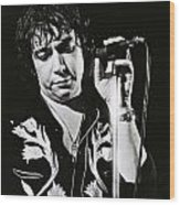 Eric Burdon In Concert-2 Wood Print