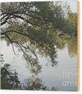 Erie Canal Turning Basin Wood Print