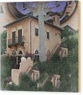 Escher's Dream Wood Print