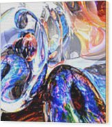 Essence Of Inspiration Abstract Wood Print