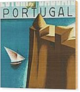 Estoril Cassais Wood Print