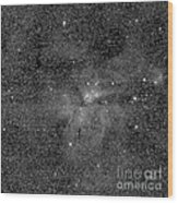 Eta Carinae Nebula, Cassini Image Wood Print