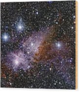 Eta Carinae Nebula, Infrared Image Wood Print