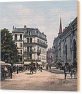 Etablissement Thermal - Aix France Wood Print by International  Images
