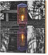 Eternal Reflection Wood Print