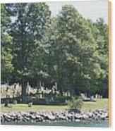 Eternal Waterfront Property Wood Print