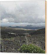 Etna's Landscape Wood Print