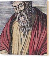 Euclid, Ancient Greek Mathematician Wood Print