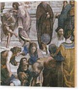 Euclid (fl. C300 B.c.) Wood Print