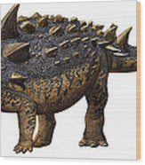 Euoplocephalus Tutus, A Prehistoric Era Wood Print
