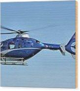 Eurocopter Ec135 Wood Print