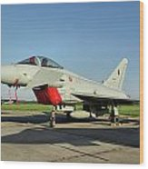 Eurofighter Ef2000 Typhoon Wood Print