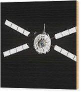 European Space Agencys Jules Verne Wood Print by Stocktrek Images