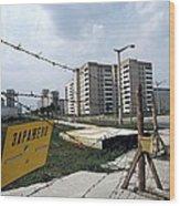 Evacuated Town Near Chernobyl, Ukraine Wood Print