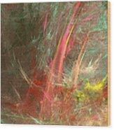 Eveil-5 Wood Print
