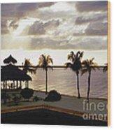 Evening In The Keys - Key Largo Wood Print