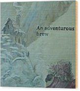 Everest Tea House Wood Print