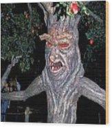 Evil Tree In Oz Wood Print