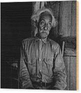 Ex-slave Bob Lemmons Was Born Wood Print