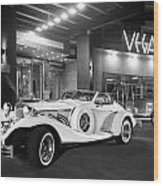 Excalibur Series Iv Roadster 1 Wood Print