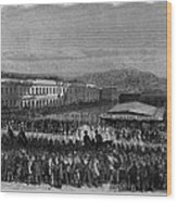 Execution Of James P. Casey And Charles Wood Print