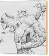 Exodus  Wood Print