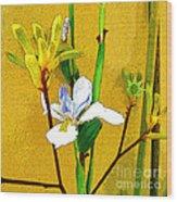 Exotic Flowers Wood Print