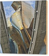 Experience Music Project Number Five Wood Print
