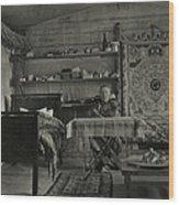 Explorer Joseph Rock Sitting Wood Print