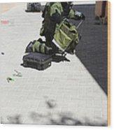 Explosive Ordnance Disposal Technician Wood Print