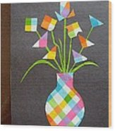 Express It Creatively Wood Print