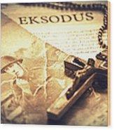 Exsodus Wood Print