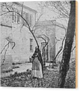 Exterior Of The Slave Pen Of Price Wood Print by Everett