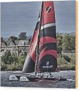 Extreme 40 Team Alinghi Wood Print