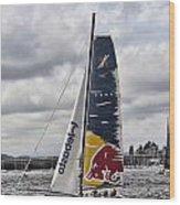 Extreme 40 Team Red Bull Wood Print