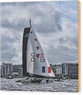 Extreme 40 Team Zoulou Wood Print