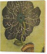Eye Flower Wood Print