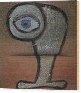 Eye Wood Print by Odon Czintos