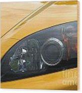 Eye Of A Car Wood Print
