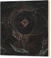 Eye Of Chaos Wood Print
