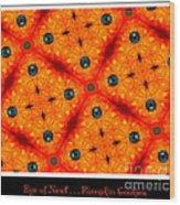 Eye Of Newt . . . Pumpkin Cookies Wood Print