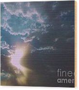 Eye Of The Storm 2 Wood Print