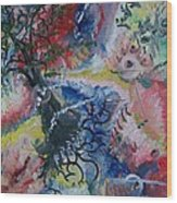 Eye Of The Storm Wood Print
