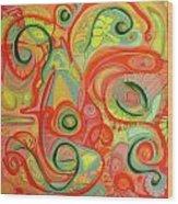 Eye On The Dawn Wood Print
