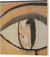 Eye Use To Love Him  Wood Print