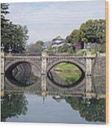 Eyeglass Bridge Wood Print