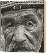 Eyes Of Soul Wood Print by Skip Nall